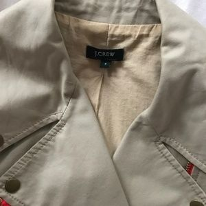 J. Crew Factory Jackets & Coats - JCrew Moto Cropped Jacket with Colorblock Zippers